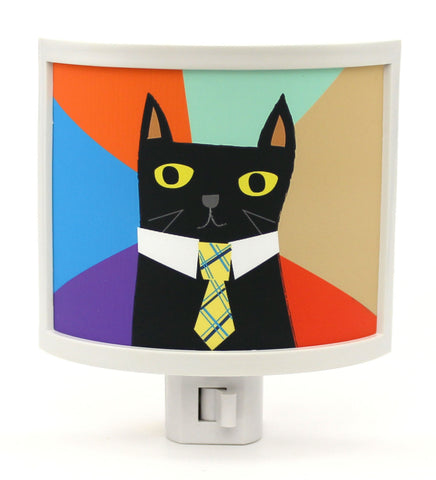 Boss Cat Night Light