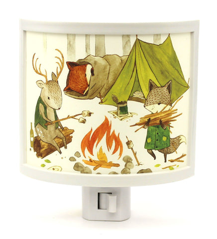 Camping Friends Night Light