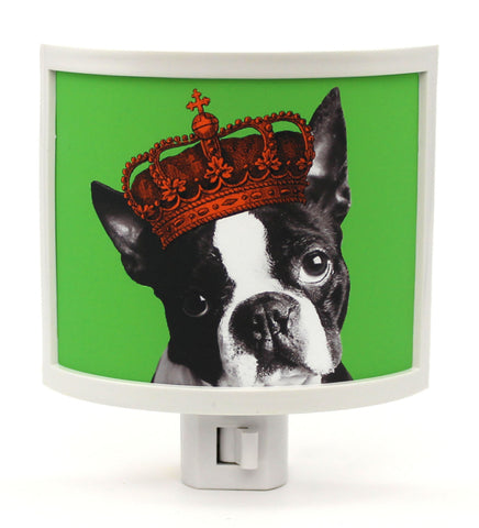 Boston Terriers Rule Night Light