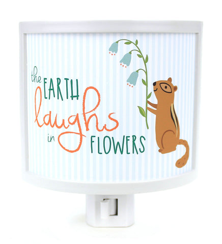 Earth Laughs in Flowers Night Light