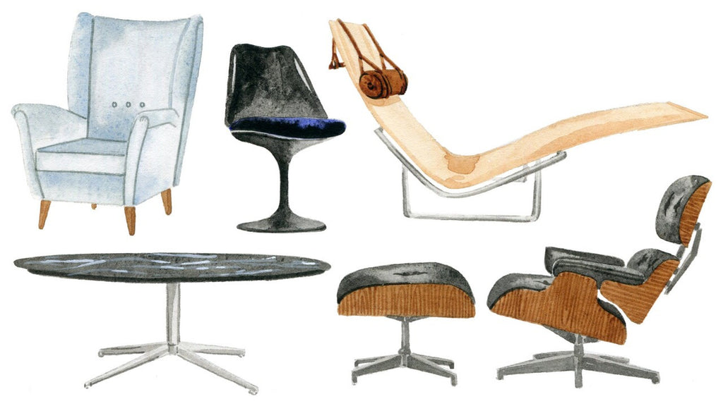 "Paul Evans Pieces featured in Coveteur.com ""The Midcentury Furniture Designers You Need to Know"""