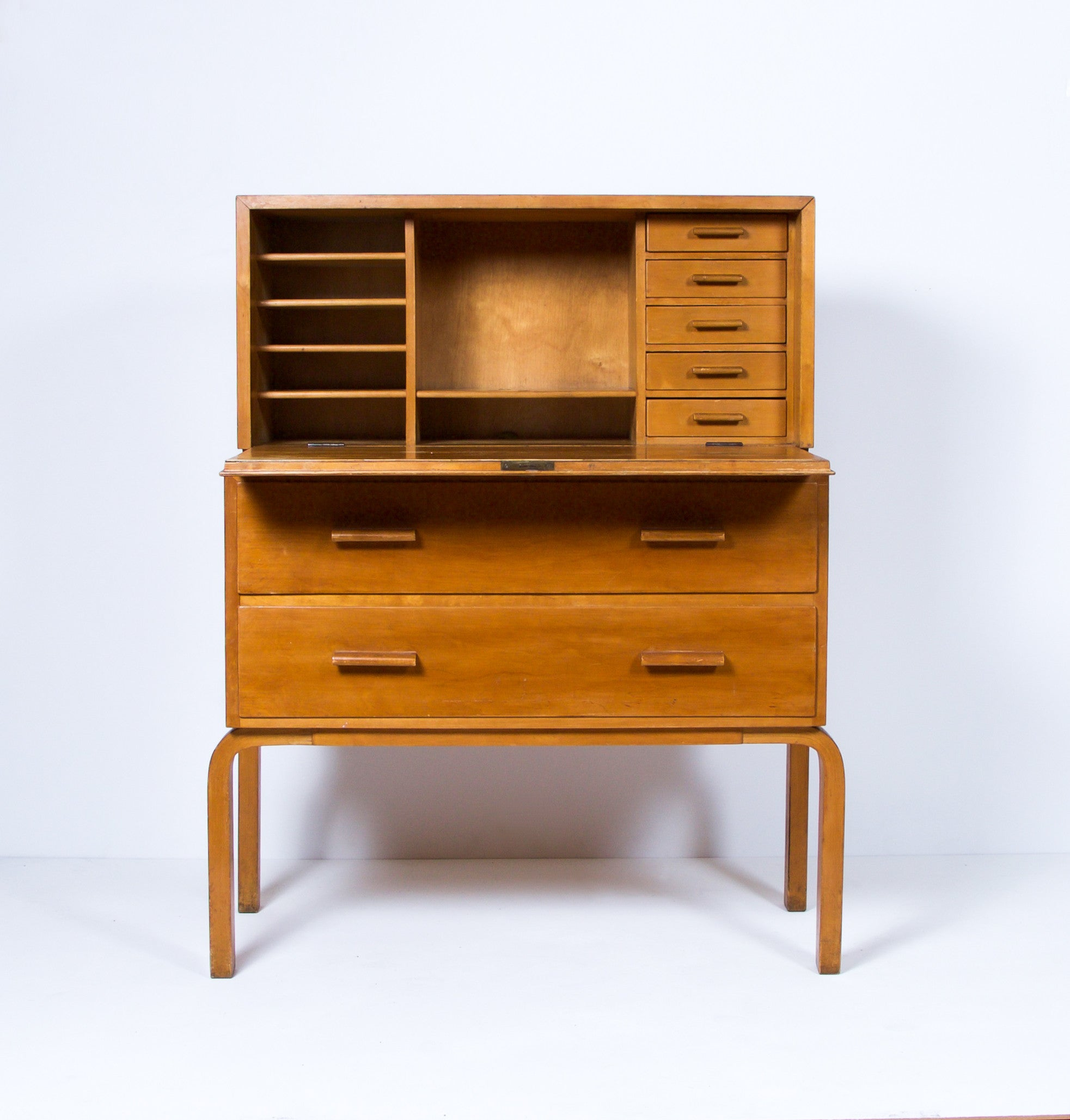Early Alvar Aalto Secretary, Model 802, 1930s - The Exchange Int