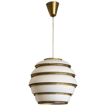 "Early Alvar Aalto, Ceiling Lamp Model A331, Also Known as ""Beehive"", 1950s"