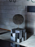 "Paul Evans Side Table ""Argente"" Cube - The Exchange Int"
