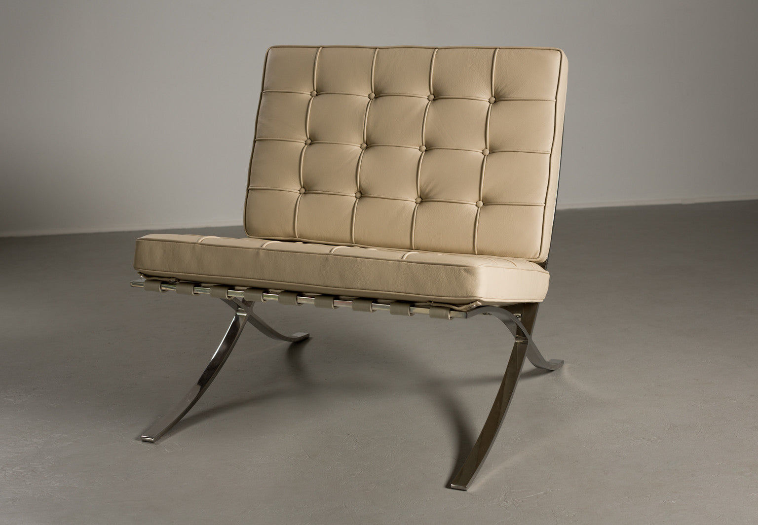 "Ludwig Mies van der Rohe for Knoll ""Barcelona"" Chair"