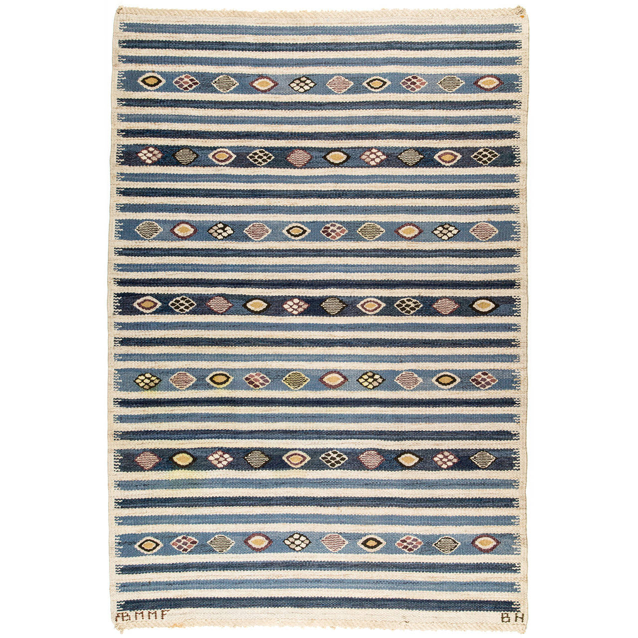 Barbro Nilsson for Märta Måås-Fjetterström AB Carpet, 1940s - The Exchange Int