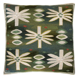 "Barbro Nilsson Textile Throw Pillow ""Water Lillies"" Näckrosorna - The Exchange Int"