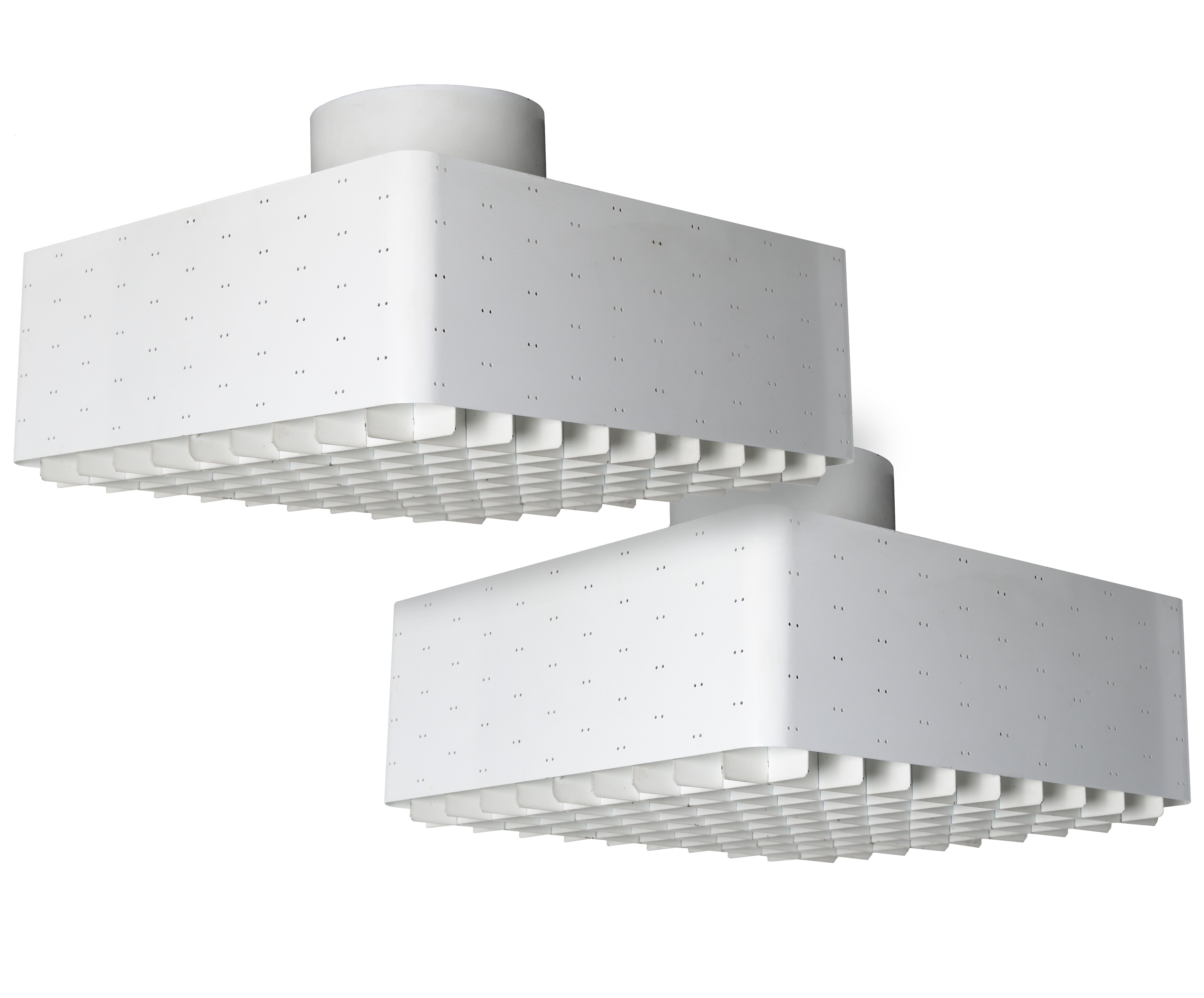 Pair of Paavo Tynell Ceiling Lamps, Model 9068 - The Exchange Int