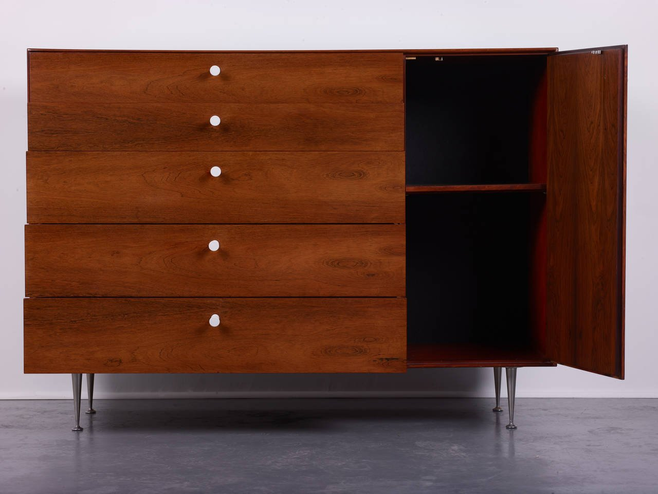 George Nelson & Associates Cabinet Model 5245 for Herman Miller, 1952 - The Exchange Int