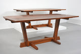Early George Nakashima Walnut Conoid Dining Table with Rosewood Keys, 1965 - The Exchange Int