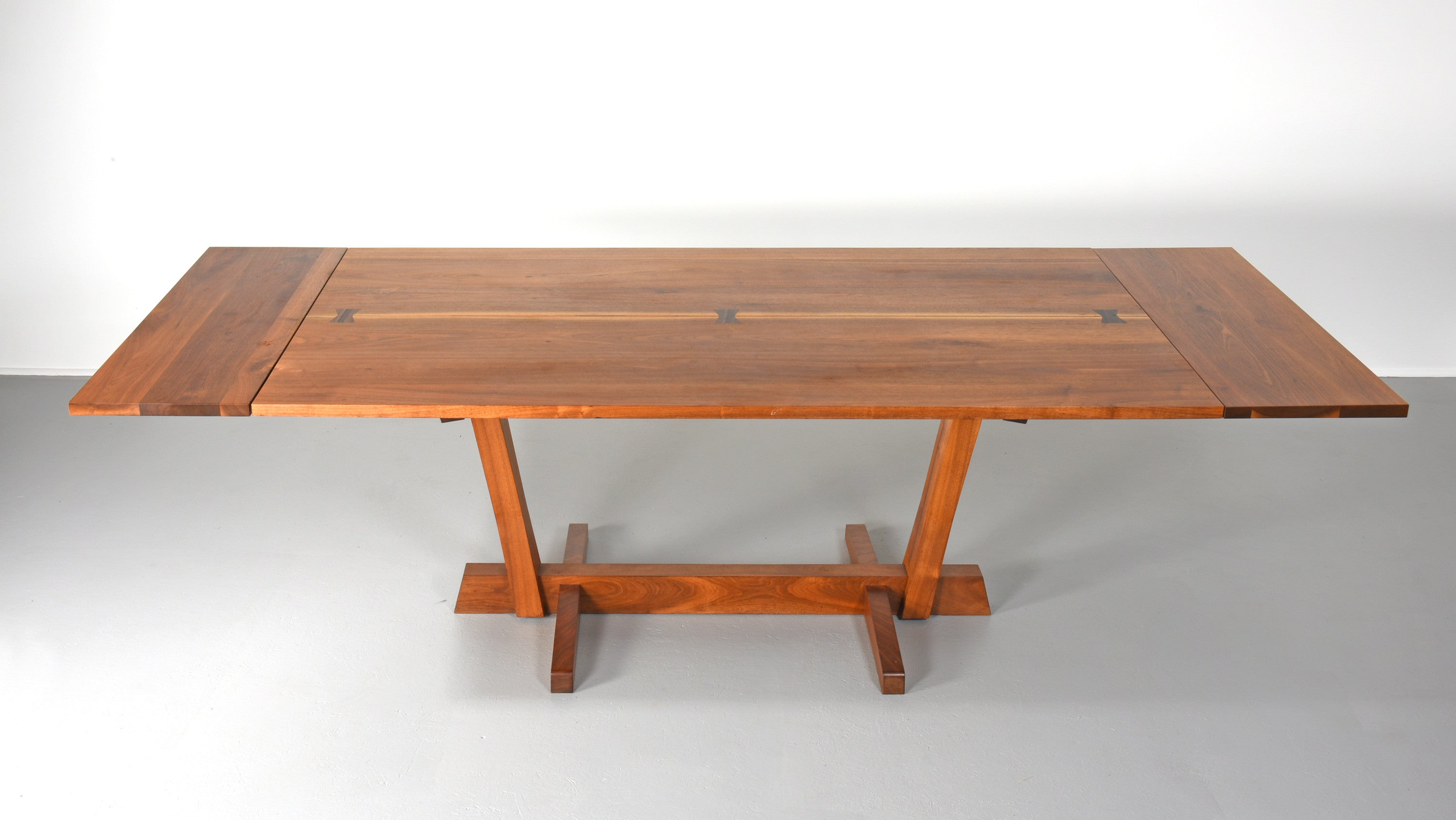 Nakashima Table george nakashima conoid dining table in walnut and rosewood – the