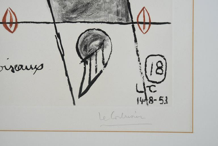 Le Corbusier Unité, Planche 18, 1963 - The Exchange Int