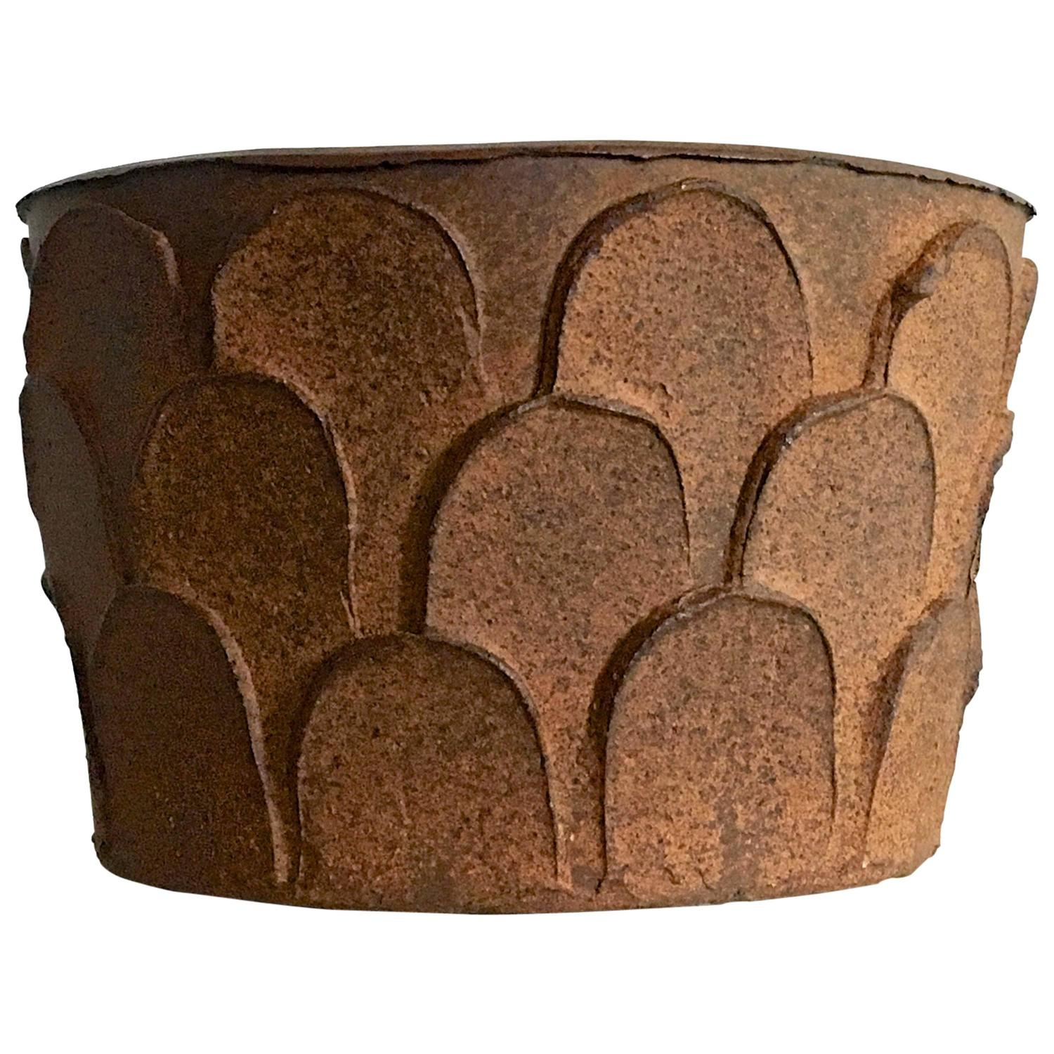 David Cressey Stoneware Planter, Model 4112 - The Exchange Int