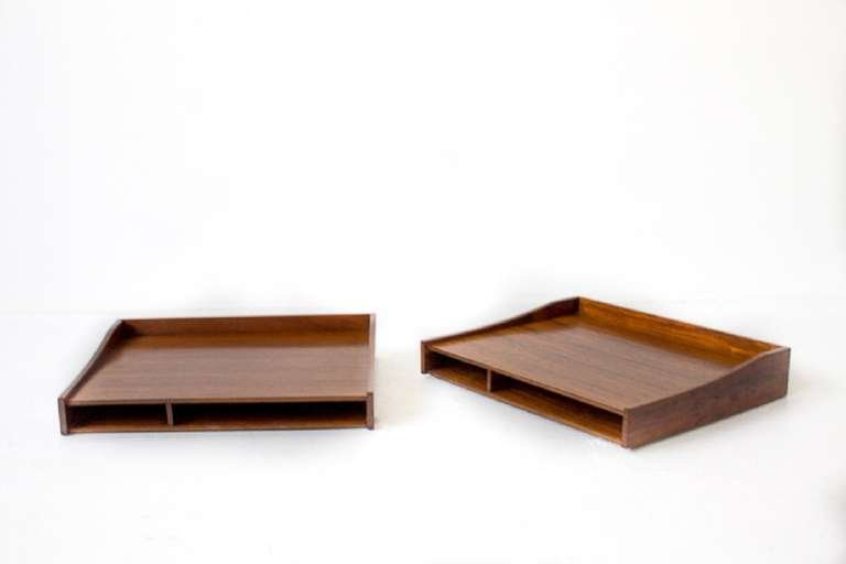 Edward Wormley for Dunbar Roll-Top Desk with Custom Rosewood Organizers, 1957 - The Exchange Int