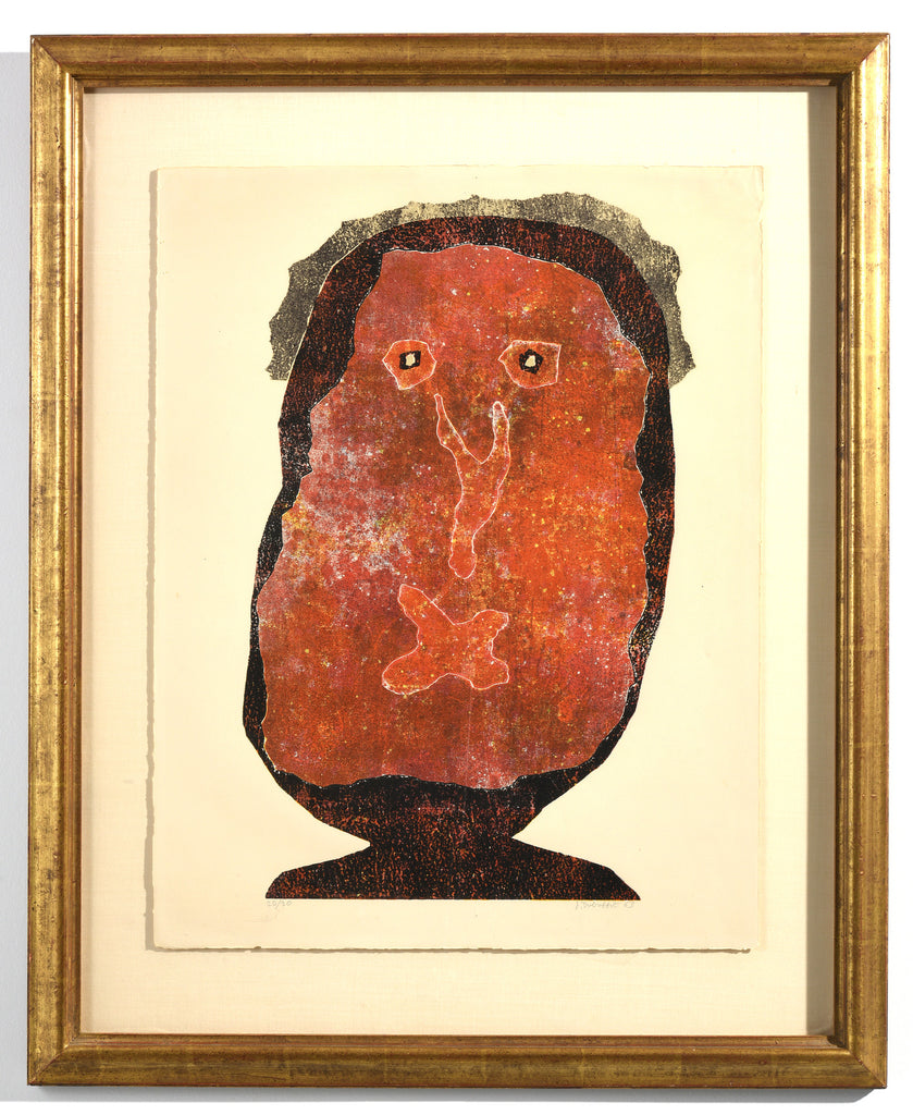 Jean Dubuffet Lenfle Chique II (the Inflated Snob II) Framed, 1961