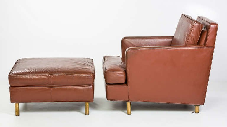 Edward Wormley for Dunbar Chair and Ottoman, 1957 - The Exchange Int