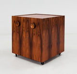Erik Buch Bar Cabinet, Dyrlund, Denmark, 1960s - The Exchange Int
