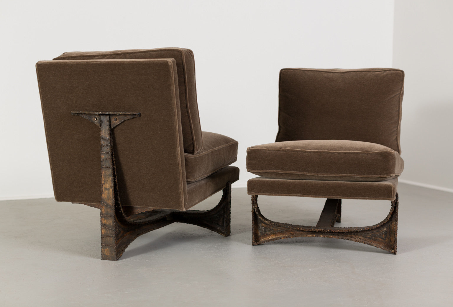 Paul Evans Studio Chairs, Pair, 1970 - The Exchange Int