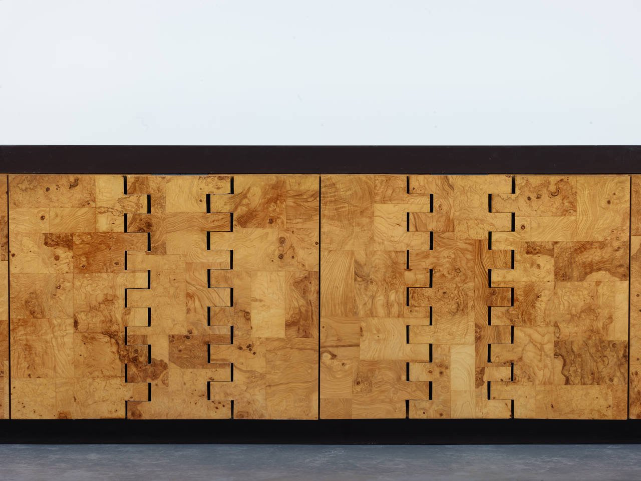 Paul Evans Olive Burl 400 Cabinet, 1970 - The Exchange Int