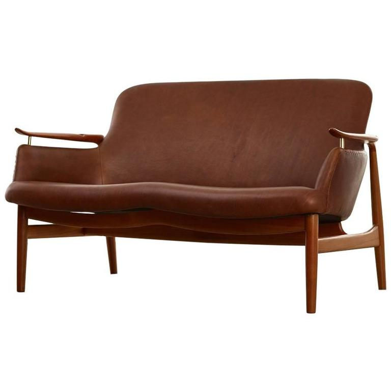 Delicieux Finn Juhl Two Seat Sofa, Model No. NV53 In Leather   The Exchange ...