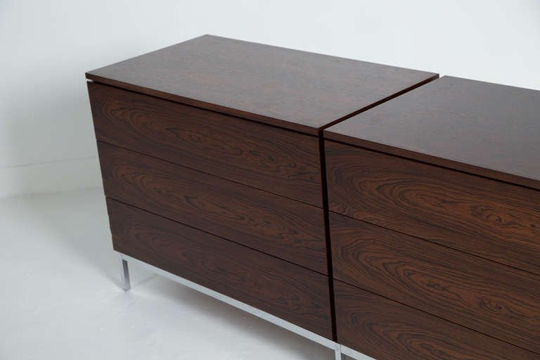 Florence Knoll Rosewood Cabinet, 1950s - The Exchange Int