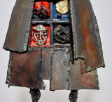 Bob Fowler Welded Sculpture, Signed, 1980s - The Exchange Int