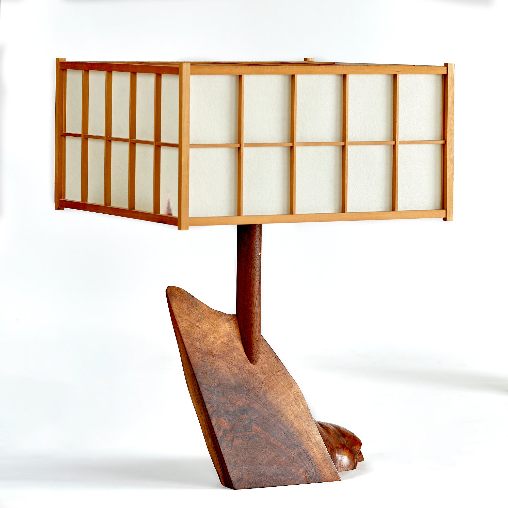 George Nakashima Table Lamp, 1974 - The Exchange Int