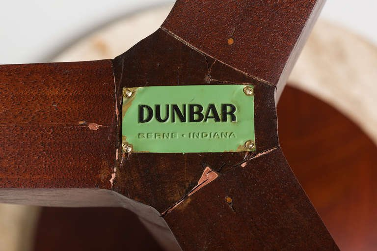 Gueridon Edward Wormley for Dunbar, 1950s - The Exchange Int