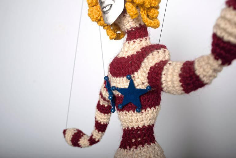 Jane Knight Marionette, Face of the Artist, 1970 - The Exchange Int