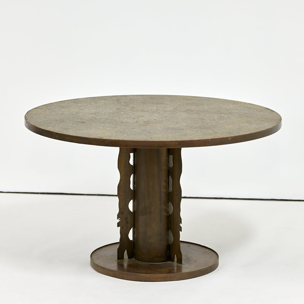 Phillip and Kelvin LaVerne Etruscan Dining Table, 1965 - The Exchange Int