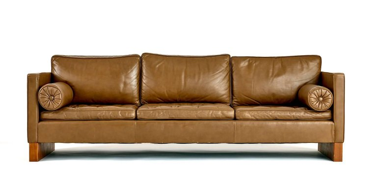 Ludwig Mies van der Rohe Sofa for Knoll, 1960s - The Exchange Int