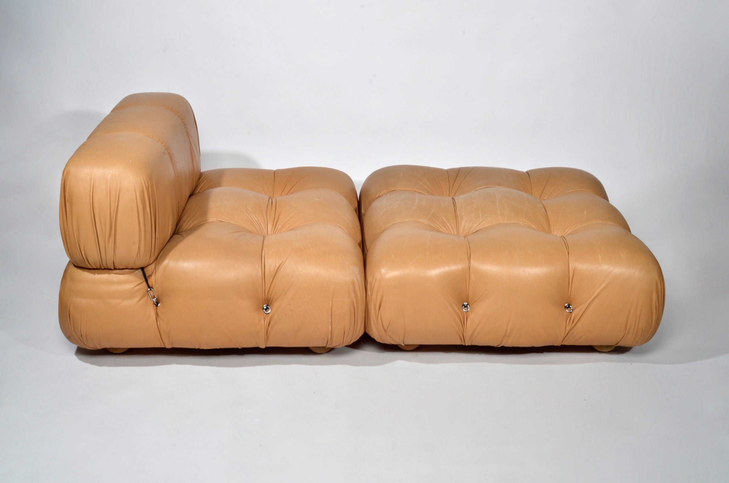 Mario Bellini 'Camaleonda' Lounge Chair and Ottoman, 1973 - The Exchange Int