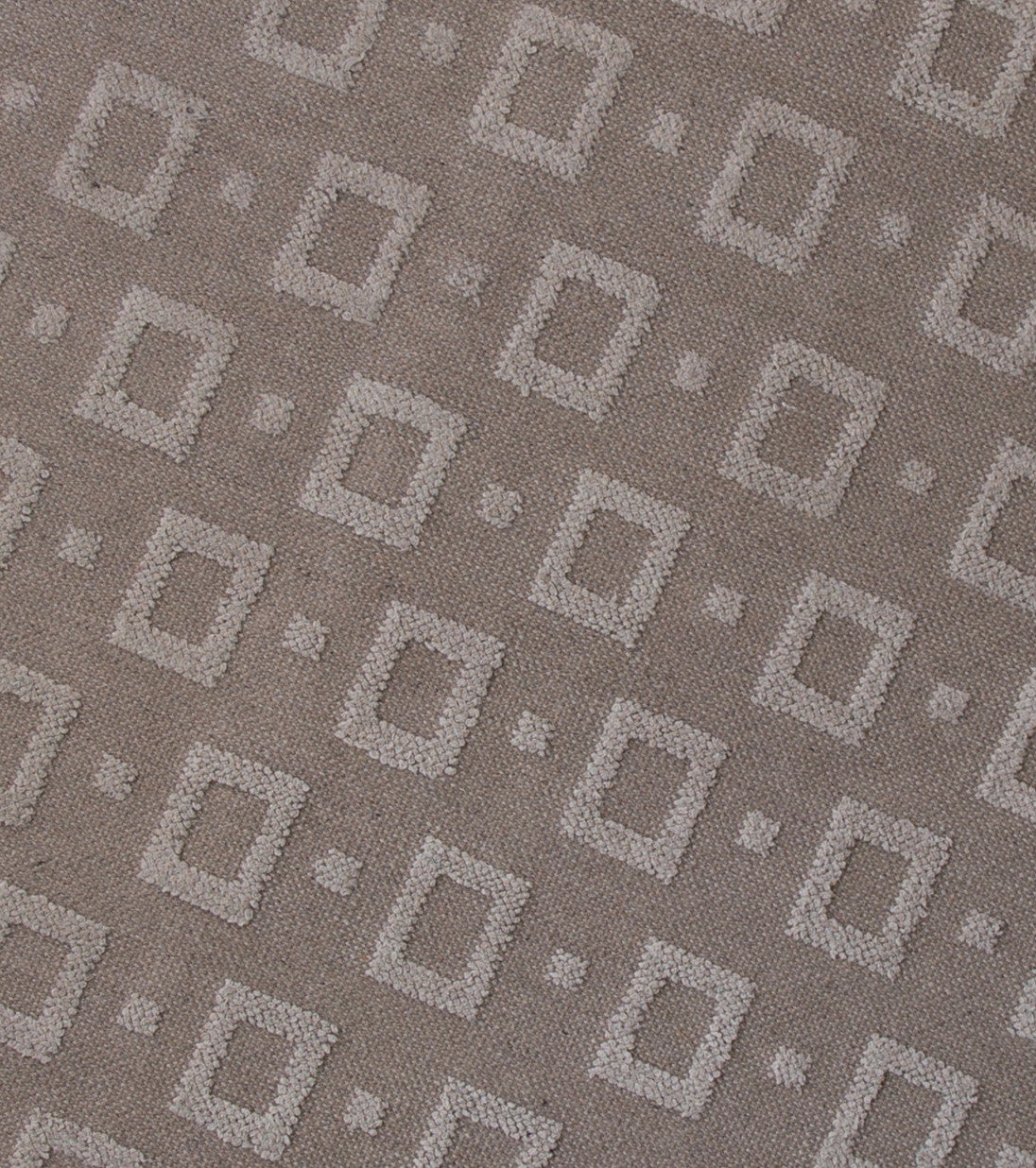 "Finnish Modernist 114"" Carpet or Rug, Handwoven - The Exchange Int"