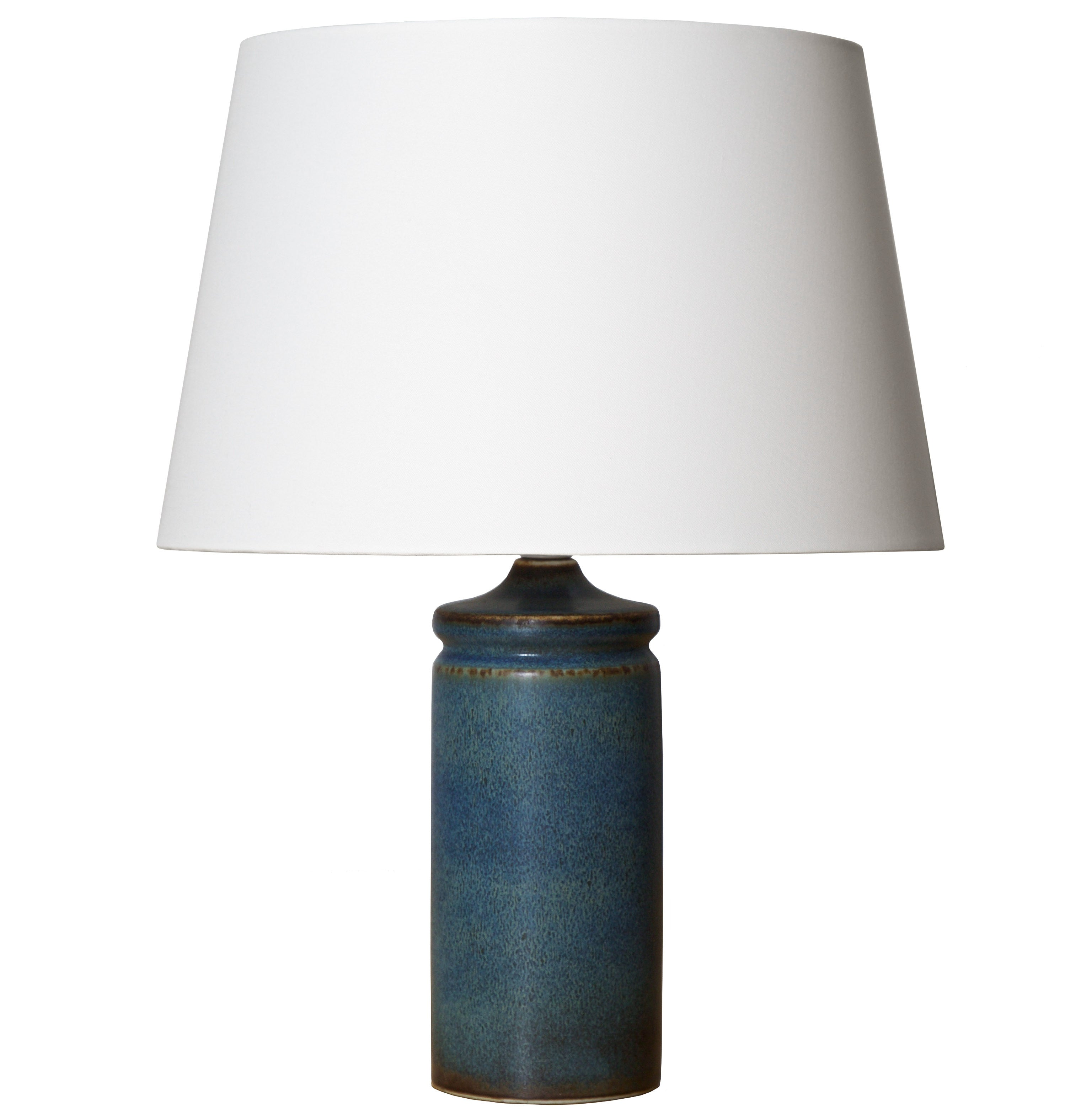 Carl-Harry Stalhane Ceramic Table Lamp, Rörstrand Ab, Sweden, 1950s