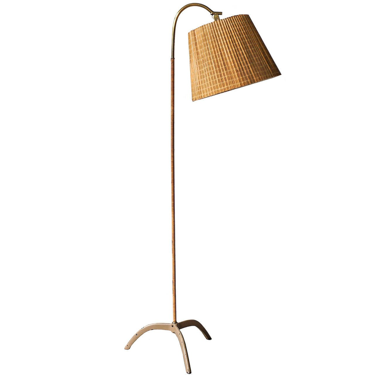 Paavo Tynell Floor Lamp, Model 9609, Taito Oy, 1940s - The Exchange Int