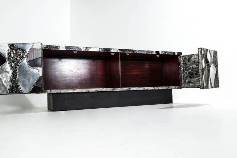 Paul Evans Large Horizontal Argente Cabinet, 1965