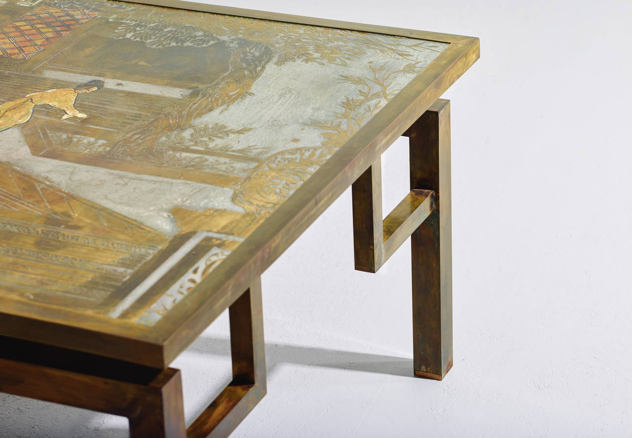 Philip and Kelvin LaVerne Chin Ying Coffee Table, 1965 - The Exchange Int