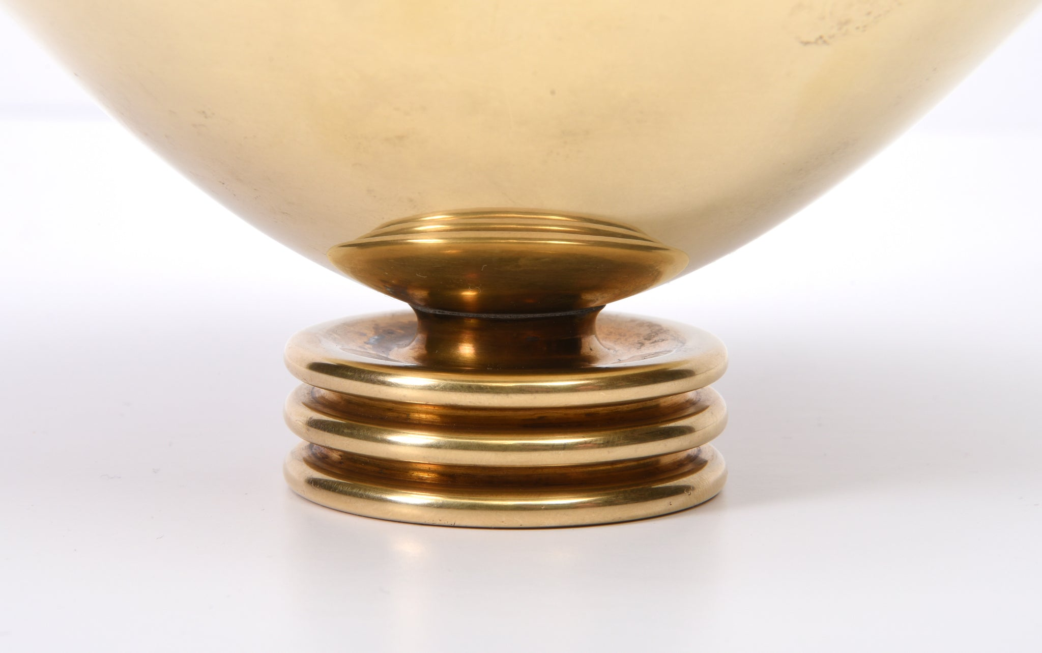 Paavo Tynell Brass Bowl, Taito Oy, 1940s