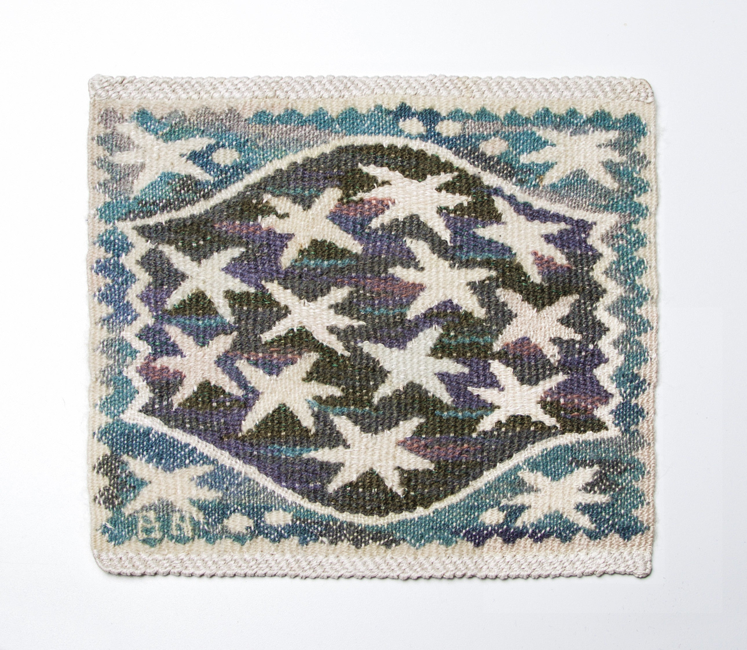 Barbro Nilsson, Ramslök Tapestry Cloth, 1943, AB MMF, Sweden - The Exchange Int