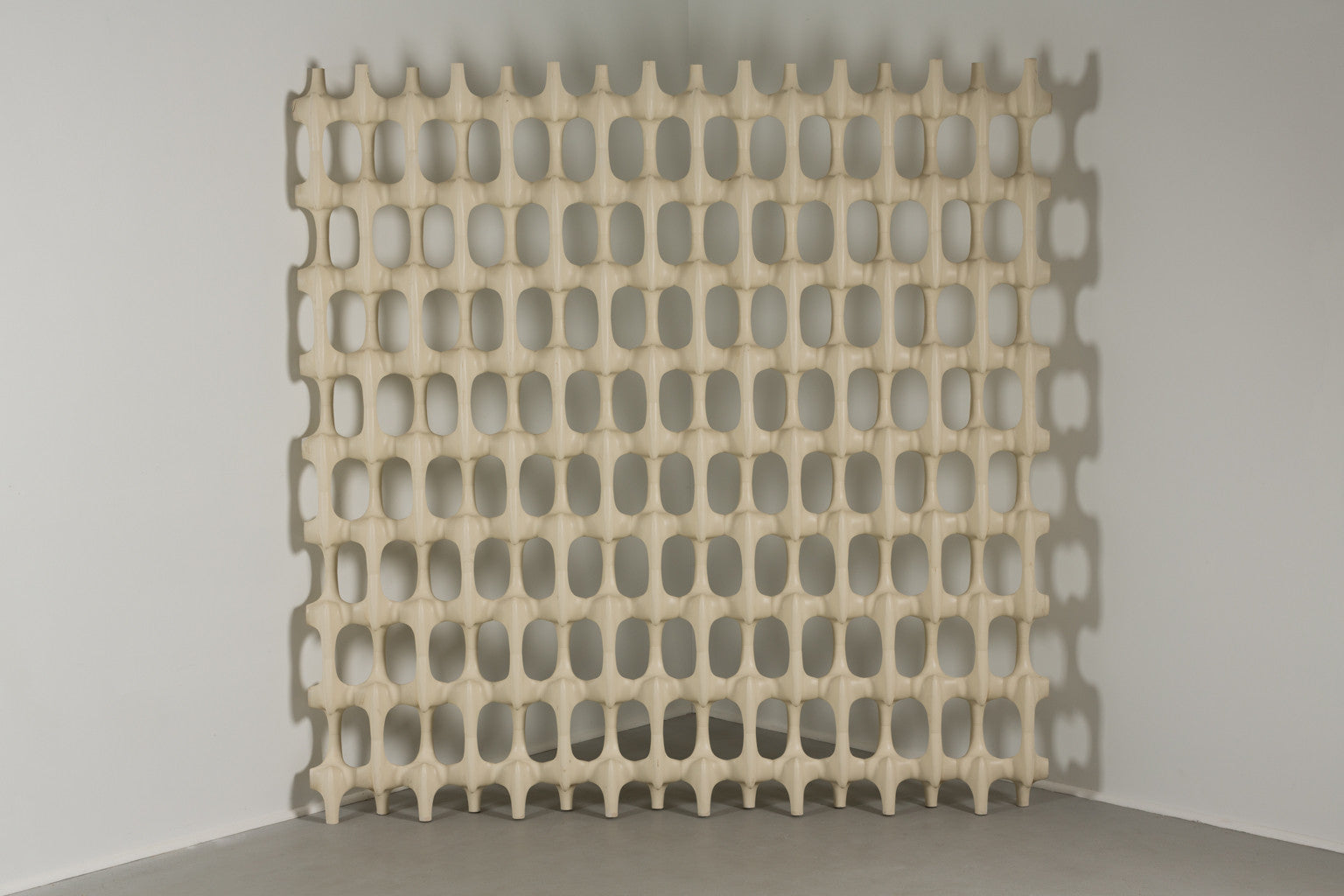 Large Richard Harvey Contemporary Sculpta-Grille Screen, 1960s
