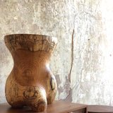 Caleb Woodard Hand Carved Side Table - The Exchange Int