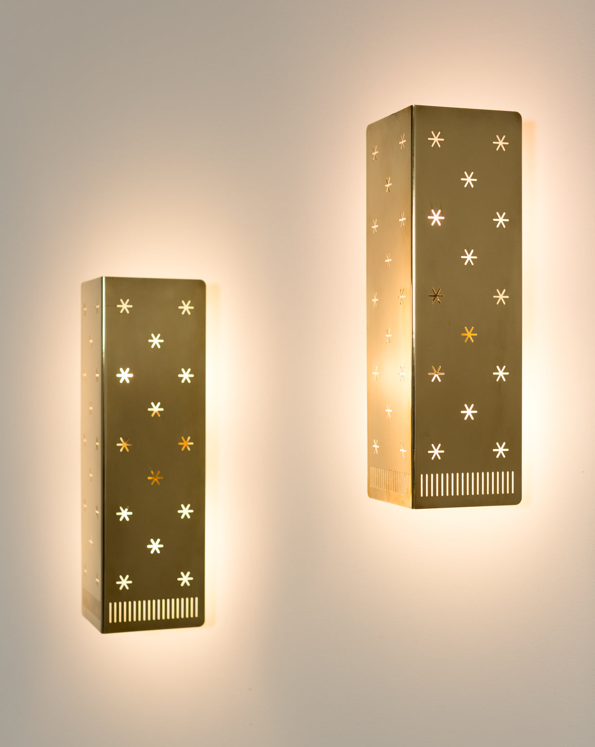 Paavo Tynell Wall Lights, 1950s - The Exchange Int