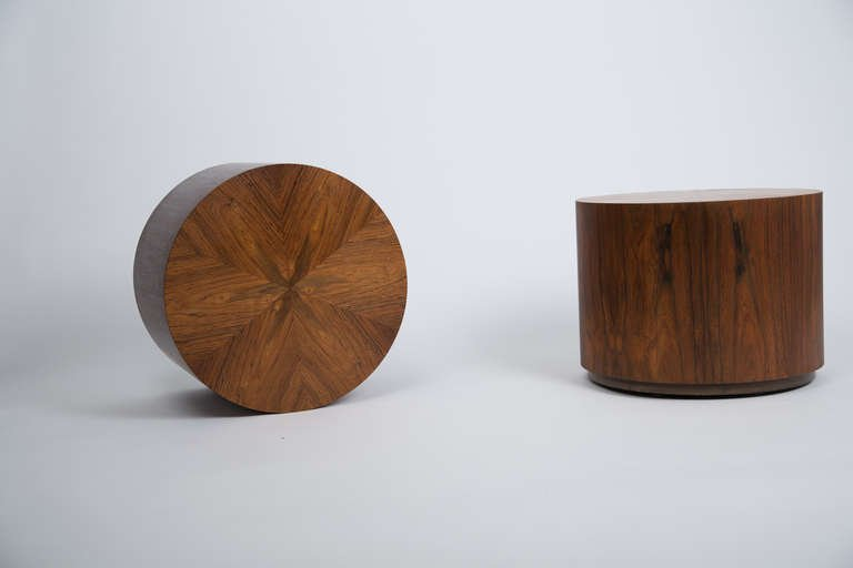 Harvey Probber Occasional Tables in Rosewood, 1960 - The Exchange Int
