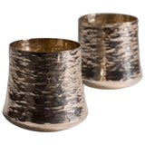 Tapio Wirkkala Hand-Hammered Cups, Sterling Silver, 1970s - The Exchange Int