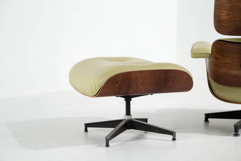 Charles and Ray Eames Rosewood Lounge Chair and Ottoman - The Exchange Int