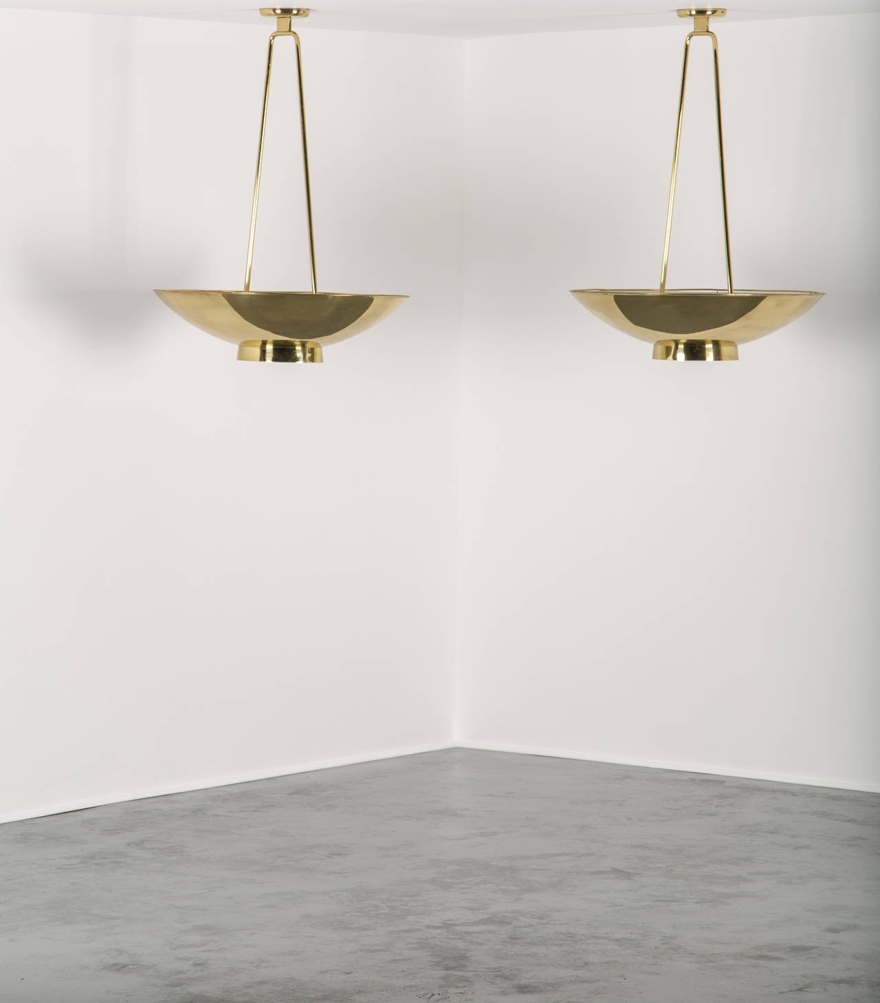 Large Paavo Tynell Ceiling Lights for Taito Oy - The Exchange Int