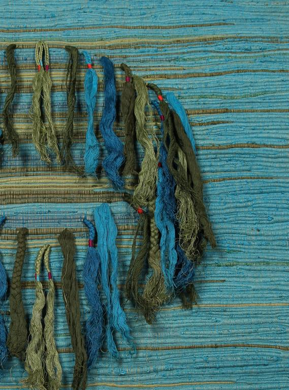Sheila Hicks, Palghat Tapestry, India, 1966 - The Exchange Int