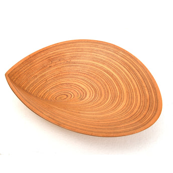 Tapio Wirkkala Overleaf Dish, Laminated Birch Wood, ca. 1951 - The Exchange Int