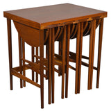 Bertha Schaefer for Singer & Sons Side Table with Set of Four Occasional Tables, 1950s