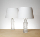 Timo Sarpaneva, Pair of Glass Table Lamps, Model No. 191, 1964 - The Exchange Int